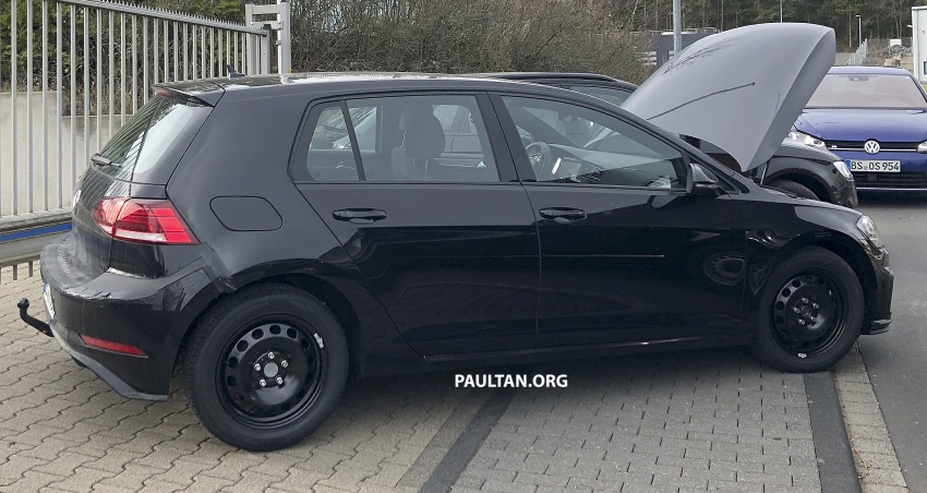 SPIED: Volkswagen Golf Mk8 seen for the first time Image #807431