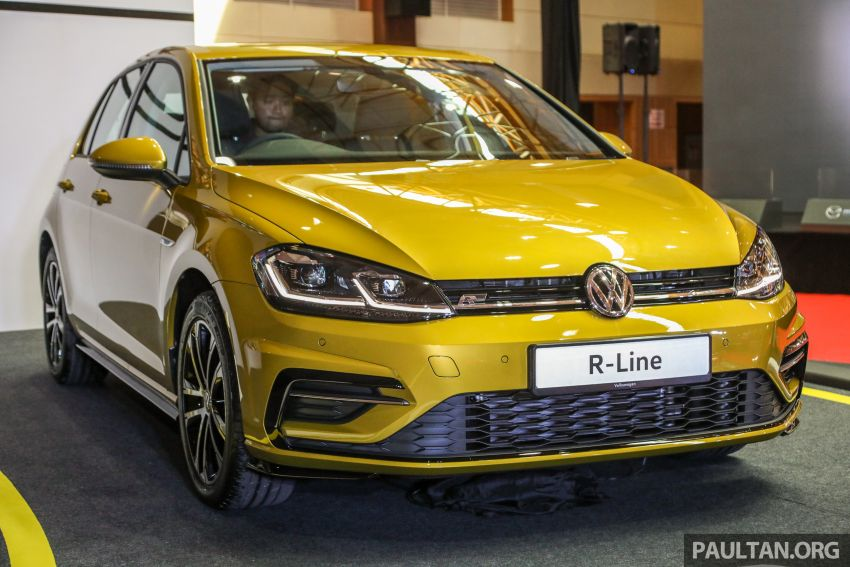 2018 Volkswagen Golf R-Line in Malaysia – RM166,990 Image #812528