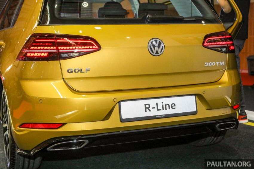 2018 Volkswagen Golf R-Line in Malaysia – RM166,990 Image #812549