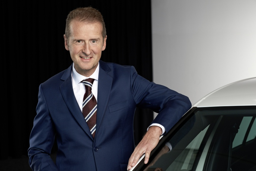 Volkswagen Group – Matthias Muller steps down as CEO and chairman, to be replaced by Herbert Diess Image #806445