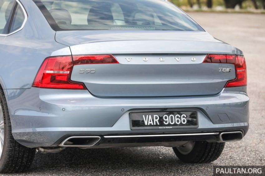PANDU UJI: Volvo S90 T8 Twin Engine Inscription Plus plug-in Hybrid – selamat datang ke masa hadapan Image #804629