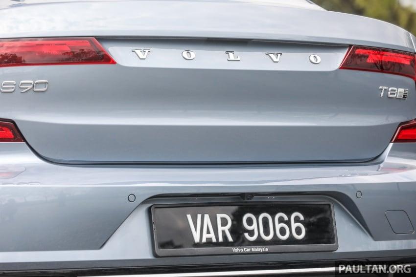 PANDU UJI: Volvo S90 T8 Twin Engine Inscription Plus plug-in Hybrid – selamat datang ke masa hadapan Image #804634