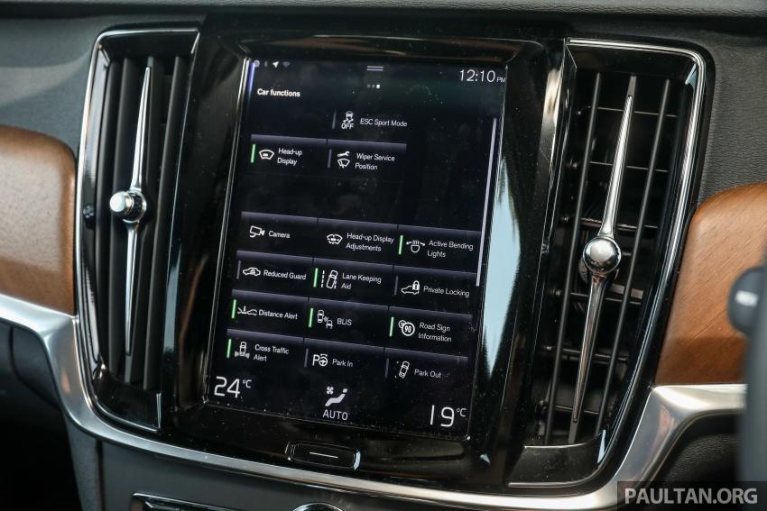 PANDU UJI: Volvo S90 T8 Twin Engine Inscription Plus plug-in Hybrid – selamat datang ke masa hadapan Image #804651
