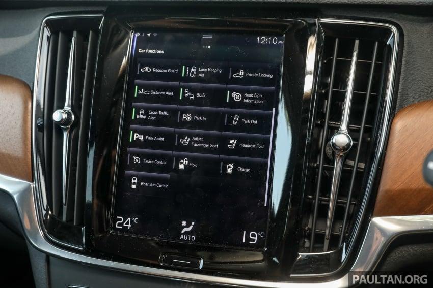 PANDU UJI: Volvo S90 T8 Twin Engine Inscription Plus plug-in Hybrid – selamat datang ke masa hadapan Image #804652