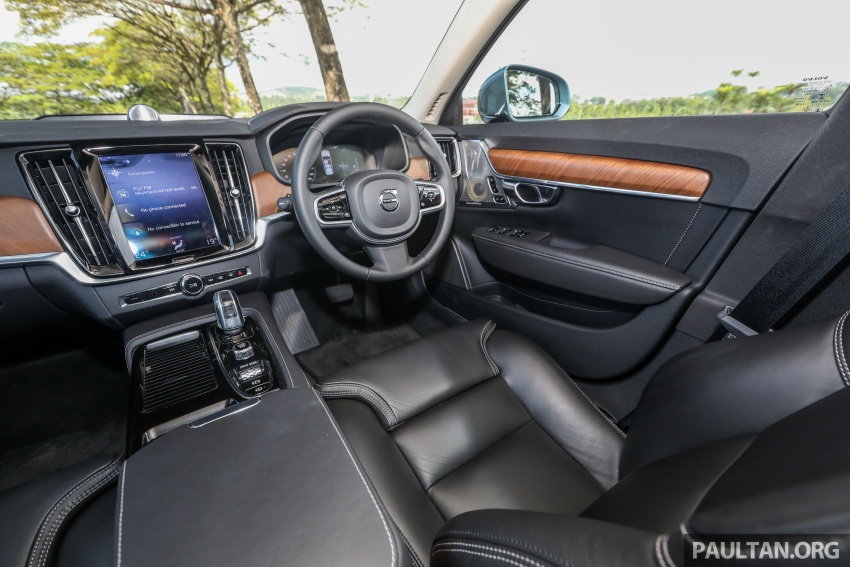 PANDU UJI: Volvo S90 T8 Twin Engine Inscription Plus plug-in Hybrid – selamat datang ke masa hadapan Image #804666