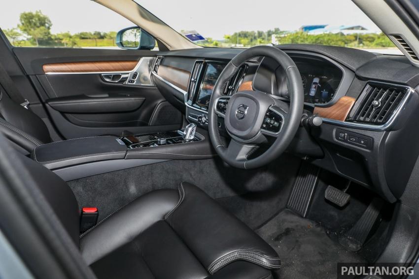 PANDU UJI: Volvo S90 T8 Twin Engine Inscription Plus plug-in Hybrid – selamat datang ke masa hadapan Image #804639