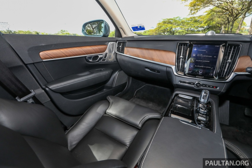 PANDU UJI: Volvo S90 T8 Twin Engine Inscription Plus plug-in Hybrid – selamat datang ke masa hadapan Image #804667