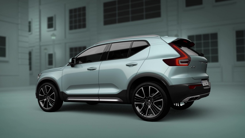Volvo Xc >> Volvo XC40 now offered with an exterior styling kit Paul Tan - Image 801649