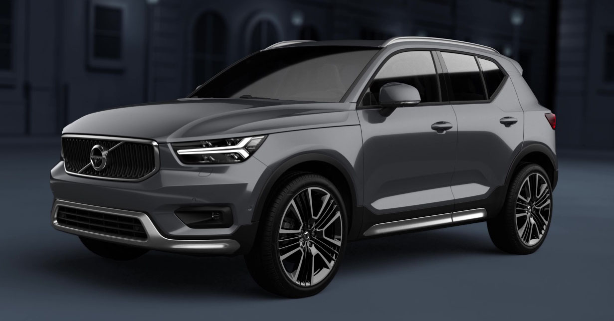 Volvo Xc40 Now Offered With An Exterior Styling Kit Paul