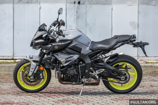 REVIEW: 2018 Yamaha MT-10 - the heart of darkness