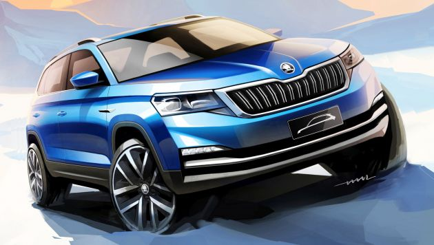 Skoda Kamiq City Suv Teased Ahead Of Beijing Debut