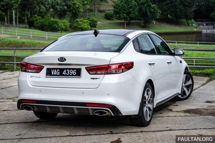 PANDU UJI: Kia Optima GT – kereta sport untuk Ayah Image #817492