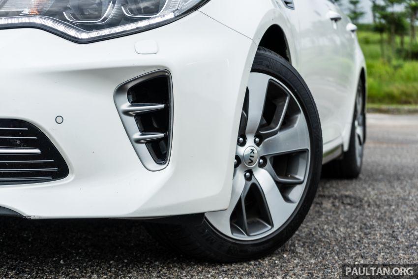 PANDU UJI: Kia Optima GT – kereta sport untuk Ayah Image #817478
