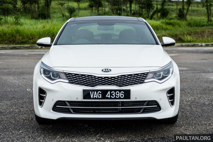 PANDU UJI: Kia Optima GT – kereta sport untuk Ayah Image #817477