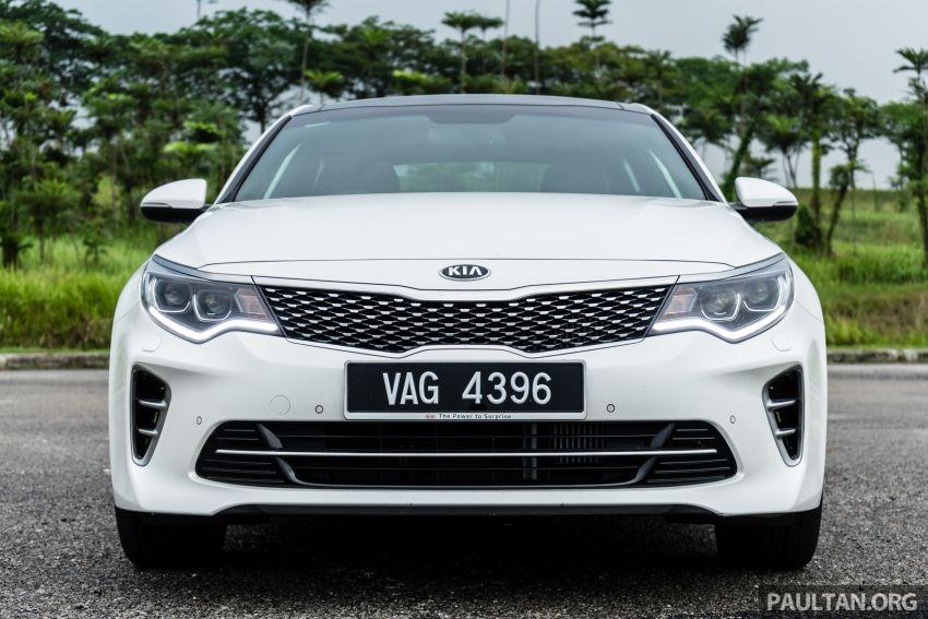 PANDU UJI: Kia Optima GT – kereta sport untuk Ayah Image #817474