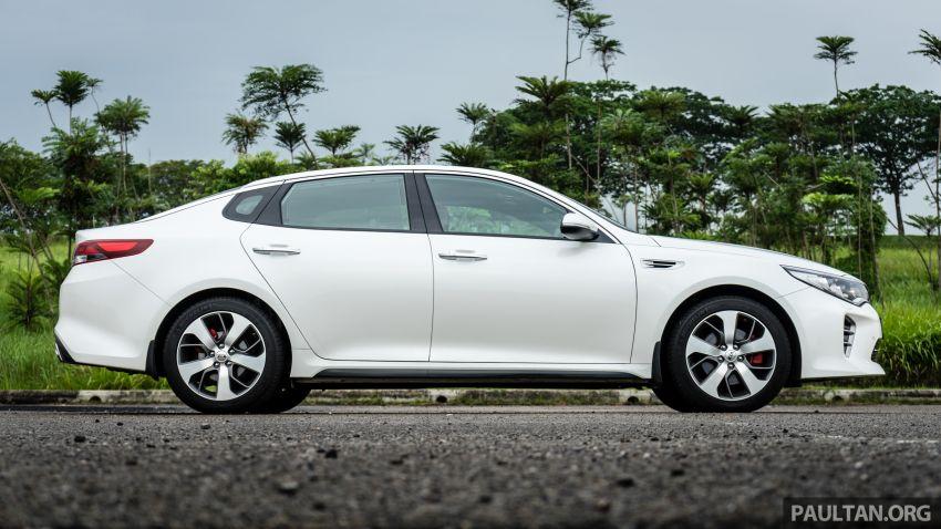 PANDU UJI: Kia Optima GT – kereta sport untuk Ayah Image #817489