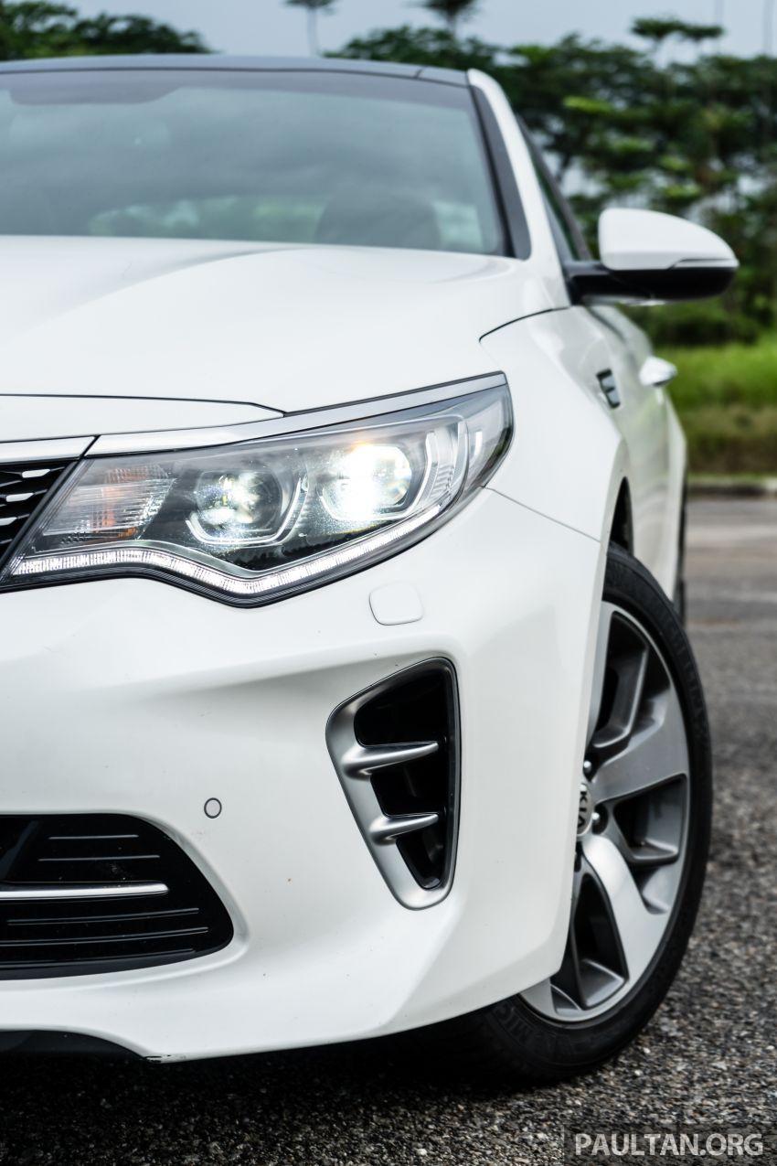 PANDU UJI: Kia Optima GT – kereta sport untuk Ayah Image #817462