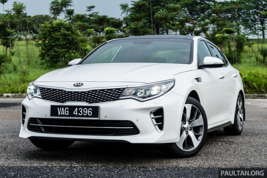 PANDU UJI: Kia Optima GT – kereta sport untuk Ayah Image #817461