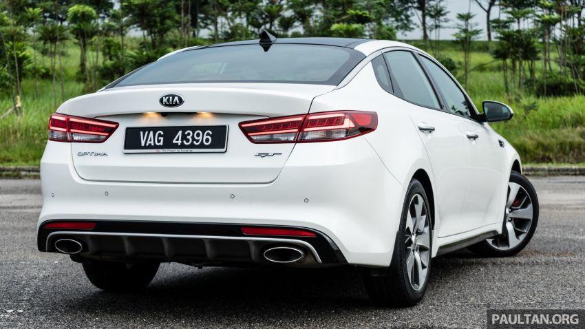 PANDU UJI: Kia Optima GT – kereta sport untuk Ayah Image #817457