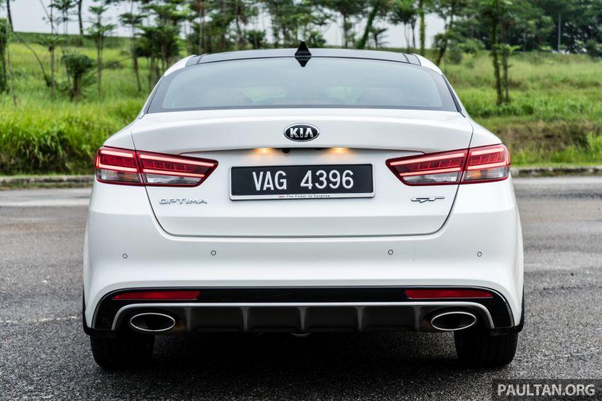 PANDU UJI: Kia Optima GT – kereta sport untuk Ayah Image #817450