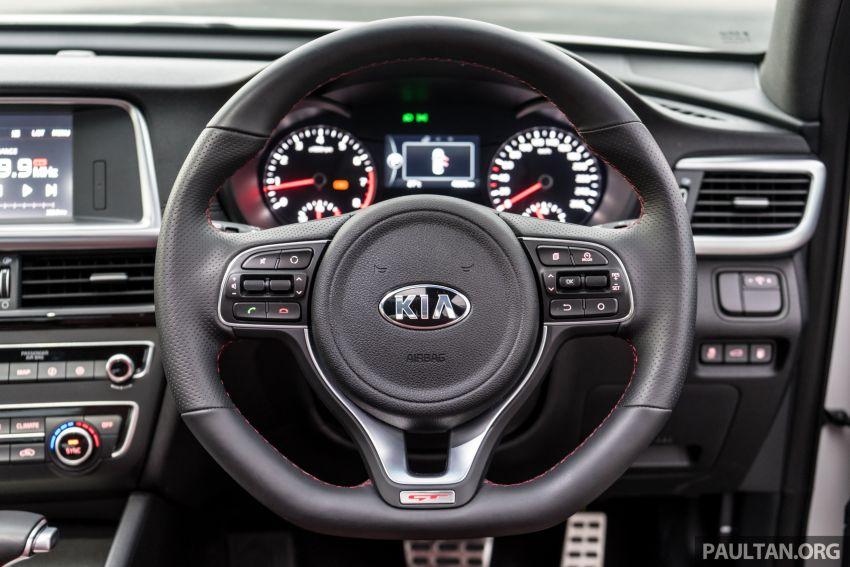PANDU UJI: Kia Optima GT – kereta sport untuk Ayah Image #817552