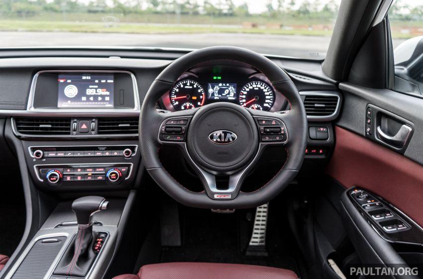 PANDU UJI: Kia Optima GT – kereta sport untuk Ayah Image #817550