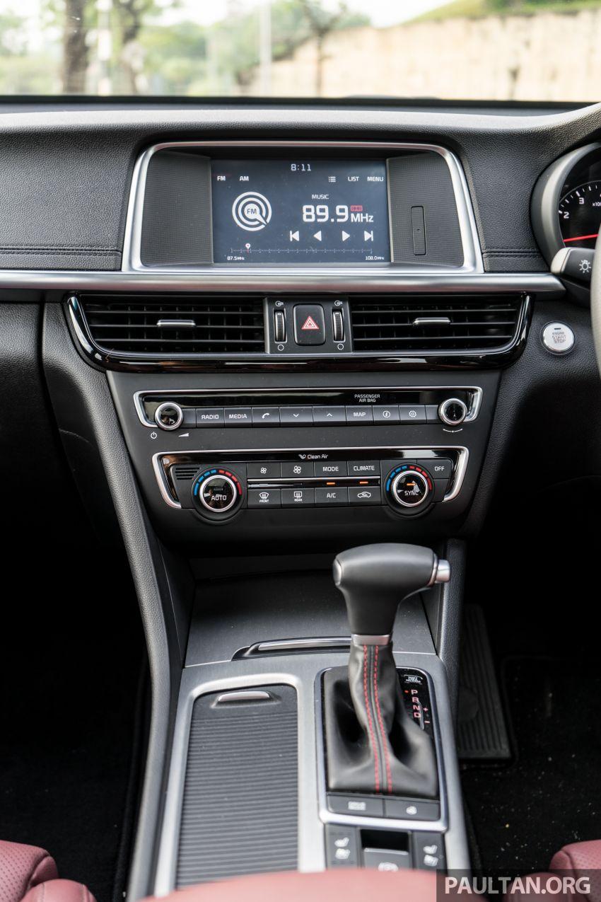 PANDU UJI: Kia Optima GT – kereta sport untuk Ayah Image #817545