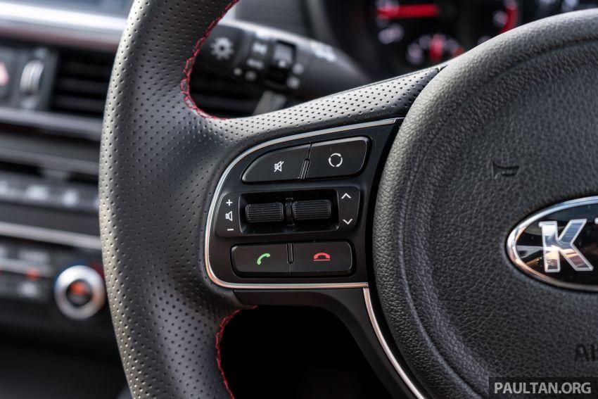 PANDU UJI: Kia Optima GT – kereta sport untuk Ayah Image #817541