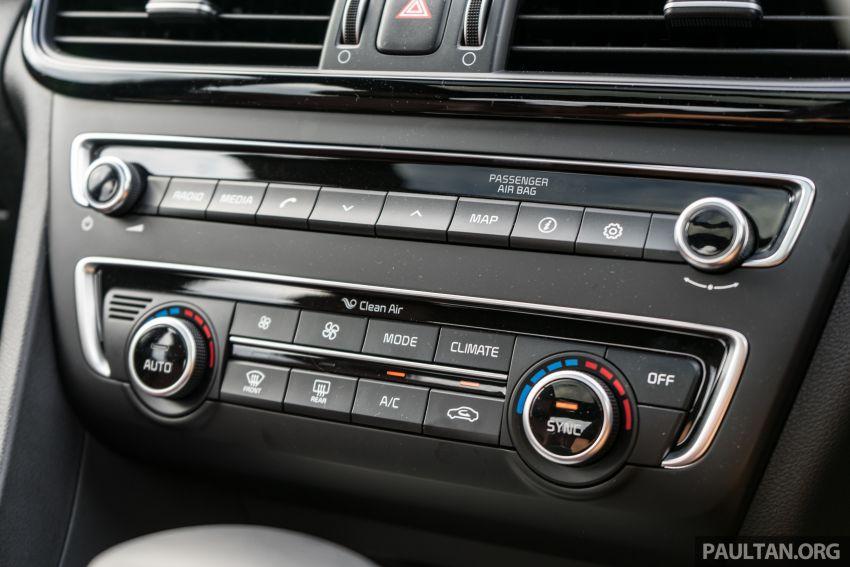 PANDU UJI: Kia Optima GT – kereta sport untuk Ayah Image #817535