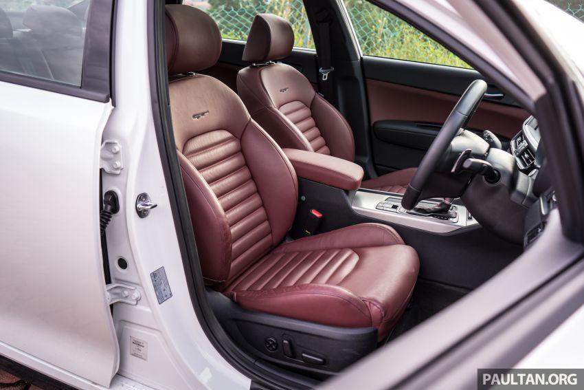 PANDU UJI: Kia Optima GT – kereta sport untuk Ayah Image #817532