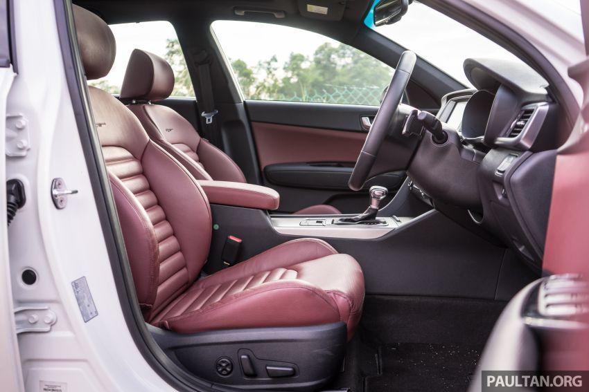 PANDU UJI: Kia Optima GT – kereta sport untuk Ayah Image #817531