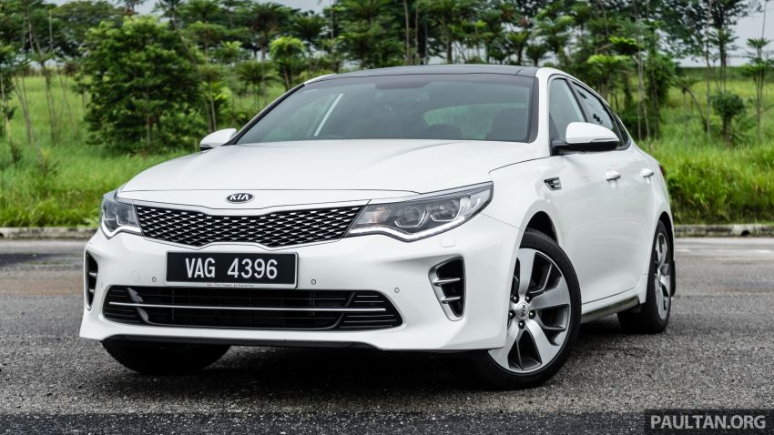 PANDU UJI: Kia Optima GT – kereta sport untuk Ayah Image #817482
