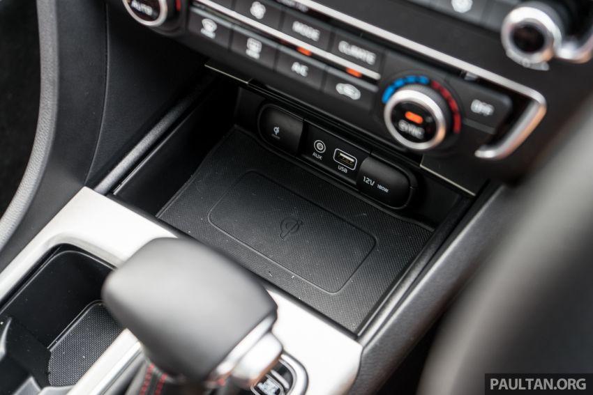 PANDU UJI: Kia Optima GT – kereta sport untuk Ayah Image #817500