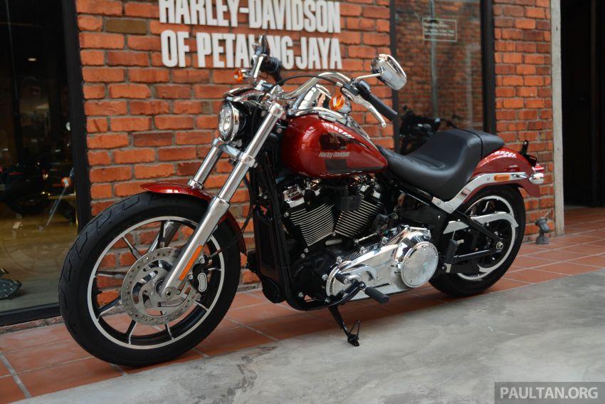 Harley Davidson: 2018 Harley-Davidson Low Rider, Softail Slim And Heritage