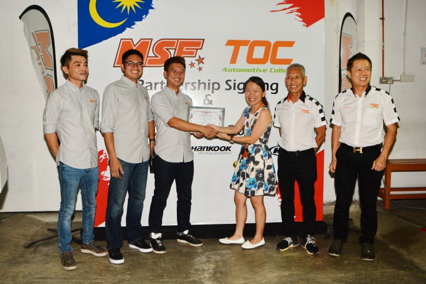 MSF and TOC launch collaboration to grow Malaysian motorsports industry with skilled technicians Image #821445