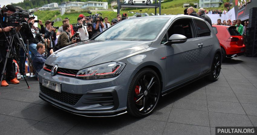 Volkswagen Golf GTI TCR Concept officially debuts at Wörtherseetreffen – 2.0L TSI engine, 290 PS, 264 km/h Image #816300