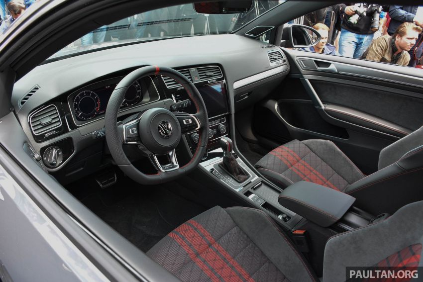 Volkswagen Golf GTI TCR Concept officially debuts at Wörtherseetreffen – 2.0L TSI engine, 290 PS, 264 km/h Image #816313