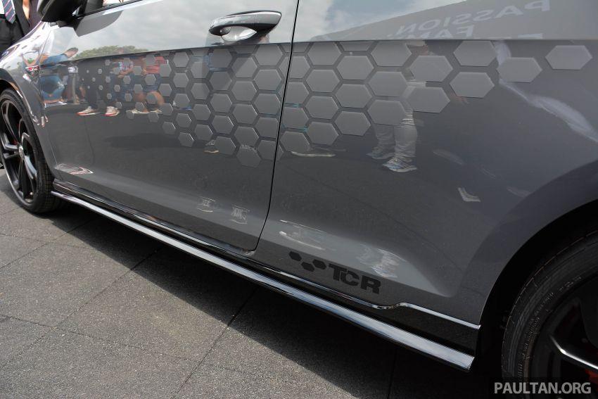 2018 Gti S >> Volkswagen Golf GTI TCR Concept didedahkan di festival Wörthersee – 2.0 liter TSI, 290 PS/370 Nm ...
