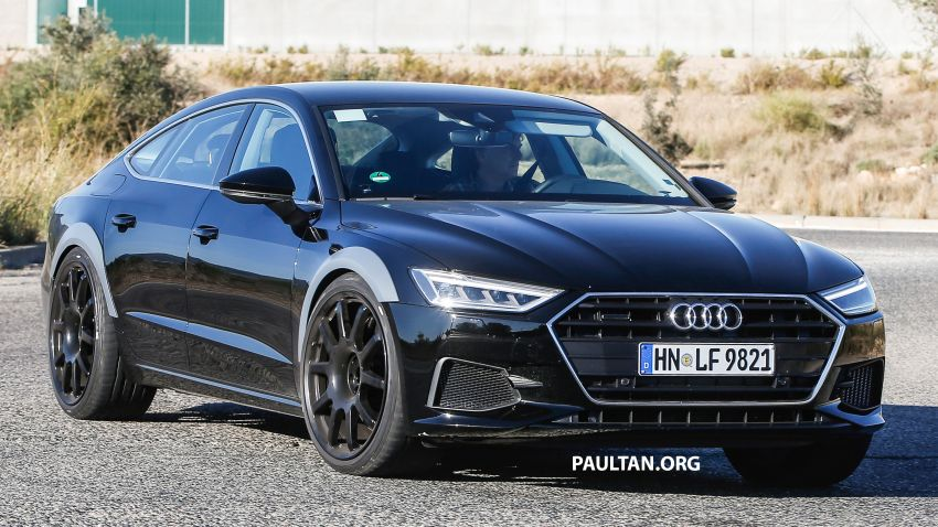 SPIED: 2019 Audi RS7 prototype spotted once again