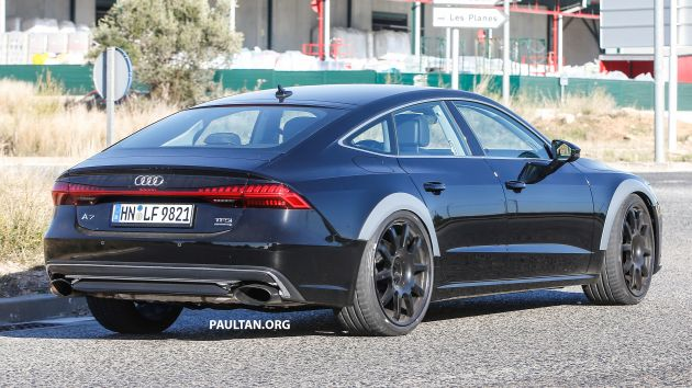 Spied 2019 Audi Rs7 Prototype Spotted Once Again