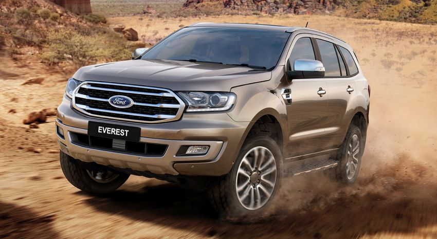 2019 Ford Everest – 2.0 biturbo diesel, 10-speed auto Image #818502