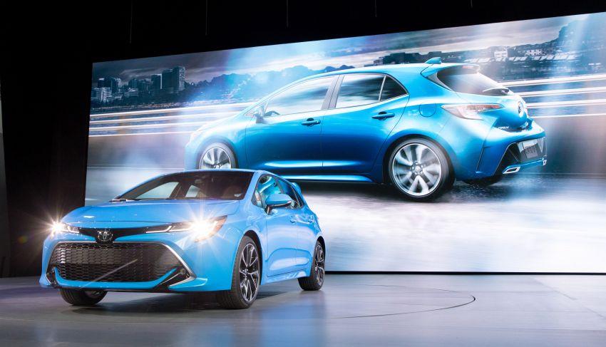GALERI: Toyota Corolla Hatchback 2019 untuk US Image #814357
