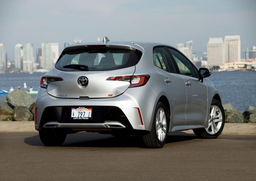 GALERI: Toyota Corolla Hatchback 2019 untuk US Image #814246
