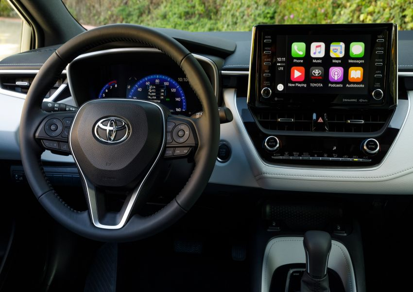 GALERI: Toyota Corolla Hatchback 2019 untuk US Image #814259