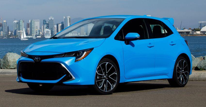 GALERI: Toyota Corolla Hatchback 2019 untuk US Image #814273