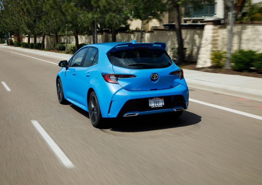 GALERI: Toyota Corolla Hatchback 2019 untuk US Image #814237