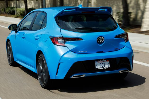 2019 toyota corolla hatchback for australian market 168 hp 200 nm 2 0 litre petrol and 1 8. Black Bedroom Furniture Sets. Home Design Ideas