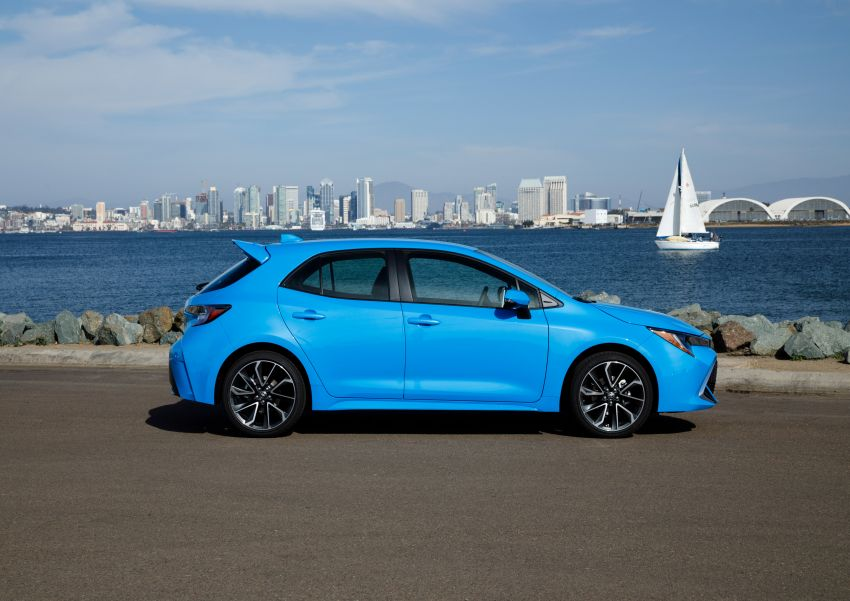 GALERI: Toyota Corolla Hatchback 2019 untuk US Image #814277
