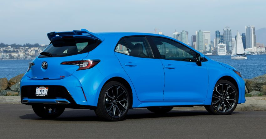 GALERI: Toyota Corolla Hatchback 2019 untuk US Image #814282