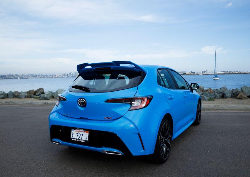 GALERI: Toyota Corolla Hatchback 2019 untuk US Image #814284